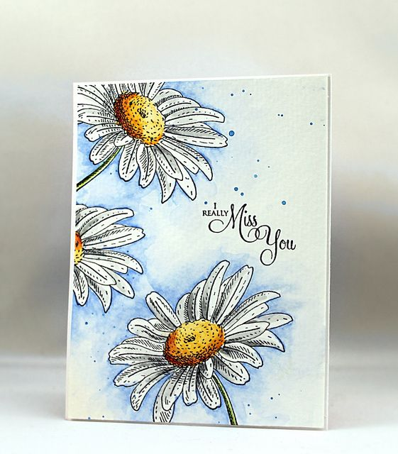 A week of watercolor projects with Jill Foster at www.stampinginspiredby.blogspot.com