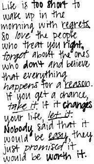 love it & live by it.