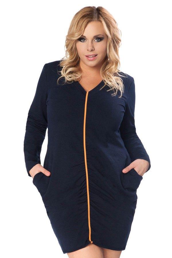 Sukienka Wiktoria Size Plus