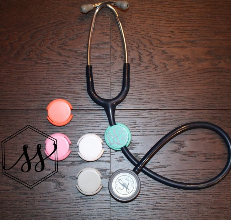 Stethoscope Monogram Clip • Stethoscope Accessories • Nurse Monogram Clip • Nurse Accessories • Nurse Gift Cute Nurse Gift Nursing Graduate by SororiitySiisters on Etsy https://www.etsy.com/listing/461630912/stethoscope-monogram-clip-stethoscope