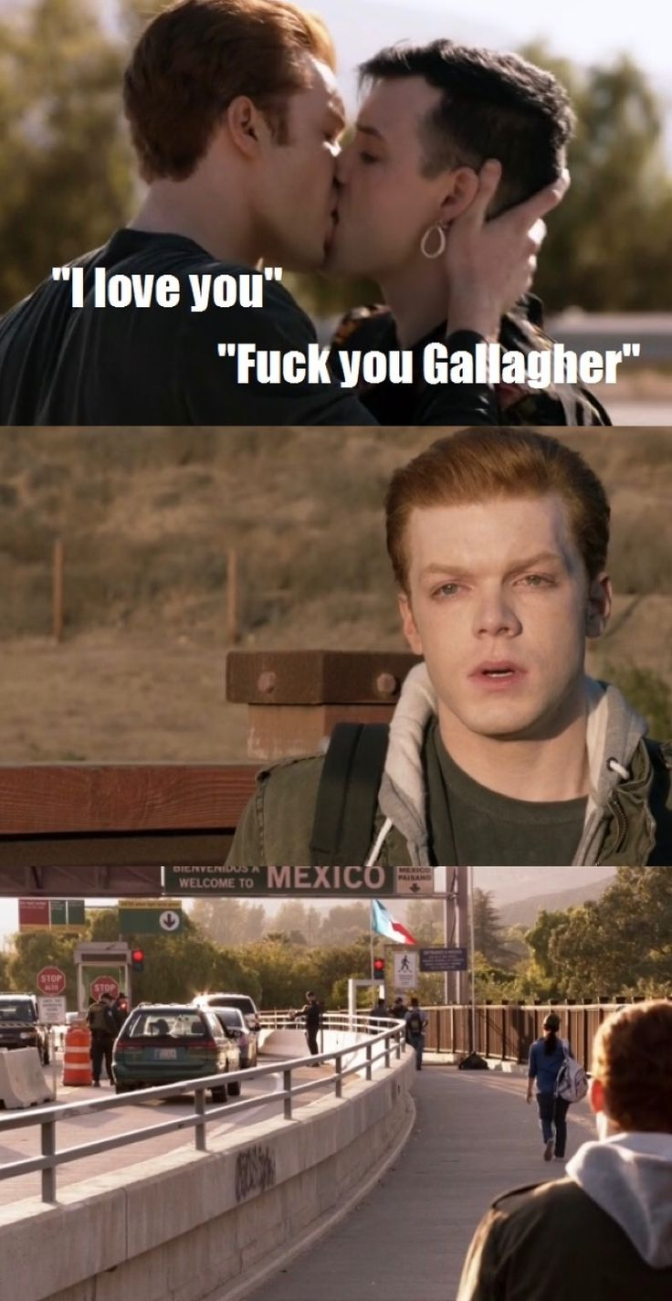 this can't be their last kiss. This can't be their last moments. No I don't want to believe that. I still have hope. They always find a way back together. They can't destroy such a love story. #Gallavich is what we call true love...