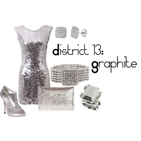 District 13: Graphite, created by checkers007.polyv...  Outfit for The Hunger Games, District 13: Graphite.