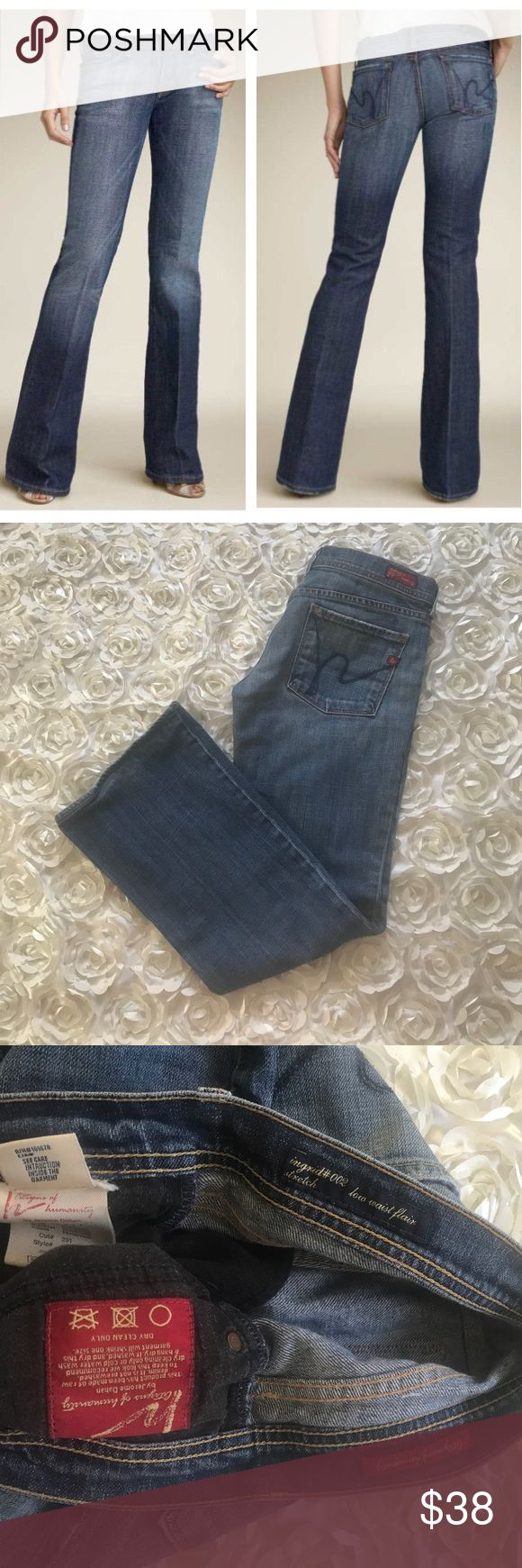 Citizens of Humanity jeans Great condition Citizens of Humanity Ingrid 002 jeans. See pics for measurements! 98% cotton, 2% polyurethane. No trades! Reasonable offers are welcome and will be accepted immediately! Thanks for stopping by! Happy Poshing!               LIO107 Citizens Of Humanity Jeans Boot Cut