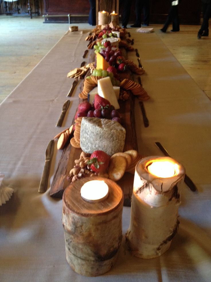 6 foot artisan cheese board at Honsberger Estates