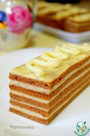 Шоколадные пирожные с ванильным заварным кремом - кулинарный рецепт