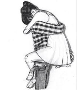 I love drawings of couples they're so cute