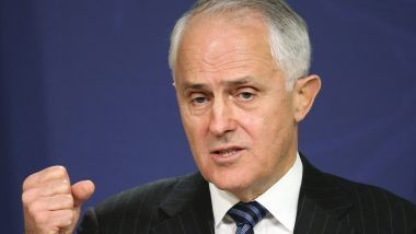 Our society is fraying. The problem starts with our political leaders. Prime Minister Malcolm Turnbull: why isn't he setting a better example?