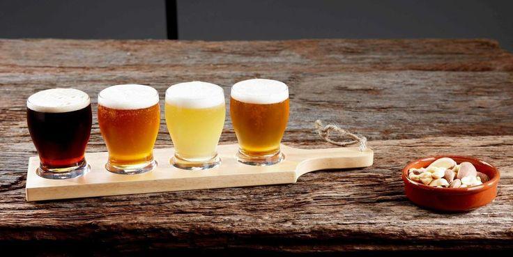 Davis & Waddell Beer Connoisseur Tasting Paddle Set