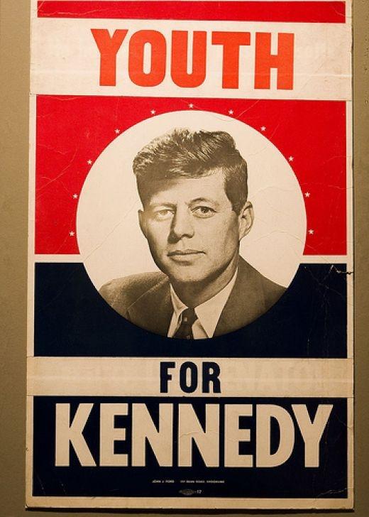 JFK's presidential poster, 1960. - #history #politics