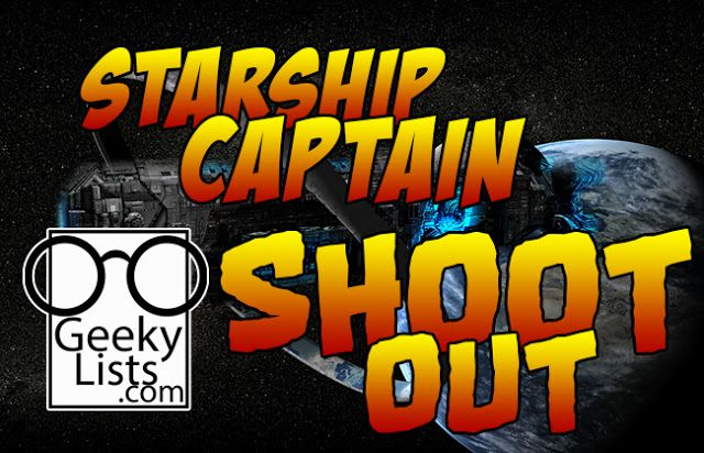 Which Captain truly rules space?  We at Geeky Lists set to the stars to find out.  After talking ...