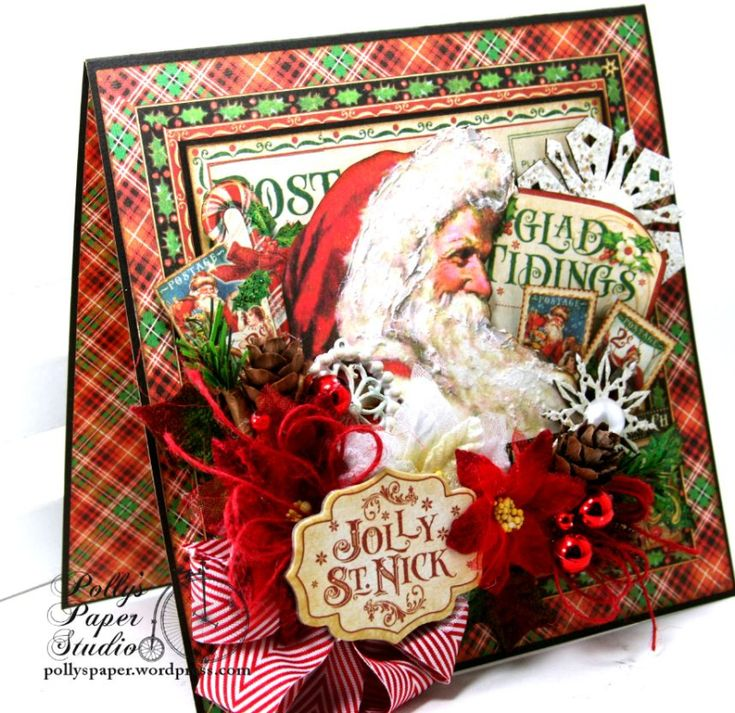 Glad_Tidings_Christmas _Greeting_Card_Polly's_Paper_Studio_Graphic_45_Petaloo_01