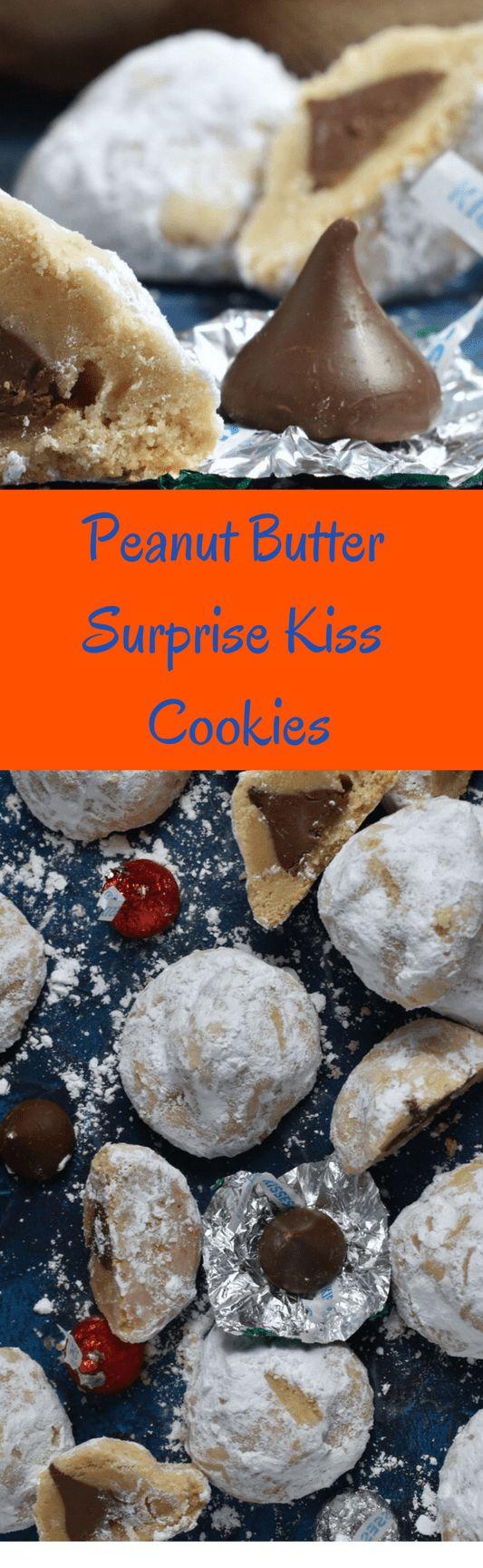 Erdnussbutter-Überraschungs-Kuss-Plätzchen – Sprinkles & Sea Salt Recipes