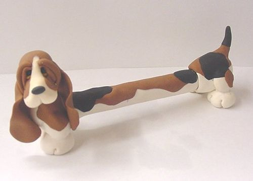 Basset Pen. Oh my gogh!!!! How cute is this!! I need one!!!