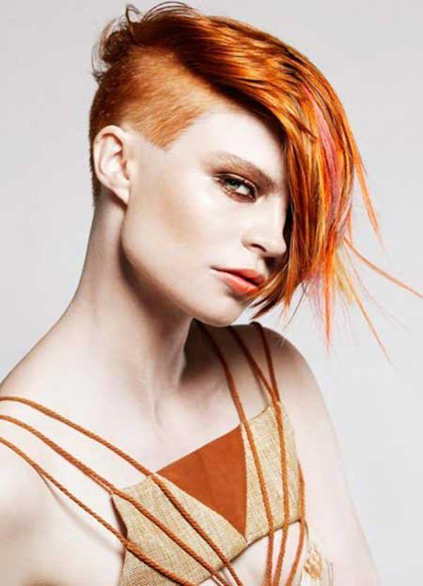 104 Beeindruckende Kupferhaarfarbe Fur Jeden Hautton Short Hair Color Short Hair Styles 2014 Short Hair Styles