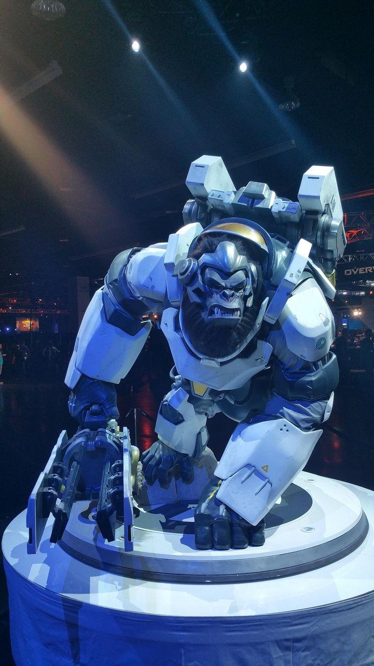 Winston Statue #BlizzCon #Overwatch