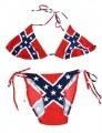 1- Rebel Flag String Bikini