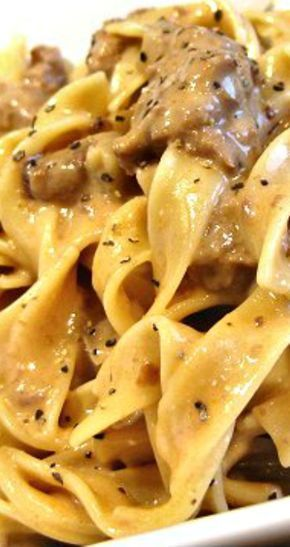 how to cook stew meat for beef stroganoff