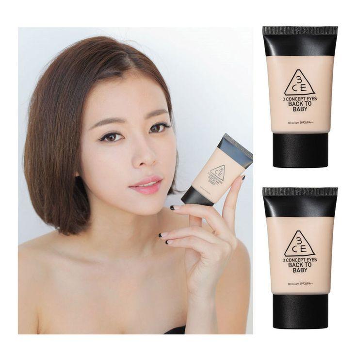 New 3 CE 3 CONCEP EYES BACK TO BABY BB cream SPF 35 PA++ Korean cosmetics STYLEN #3CE3Concept