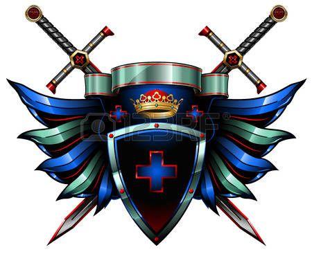 escudo de armas: el escudo de armas Vectores