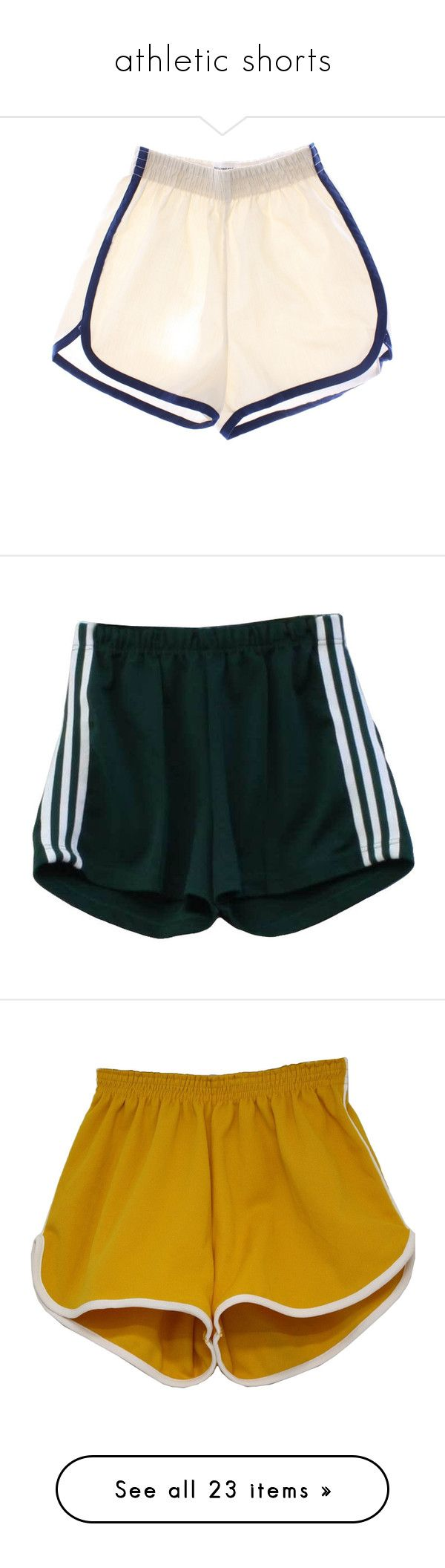 """""""athletic shorts"""" by alypusateri ❤ liked on Polyvore featuring men's fashion, men's clothing, men's activewear, men's activewear shorts, shorts, bottoms, pants, mens activewear, mens activewear shorts and short"""