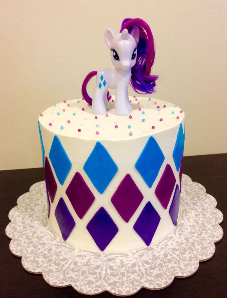 My little pony, Rarity cake @ https://www.facebook.com/pages/Lovin-From-The-Oven-by-Melinda/1400685980172802