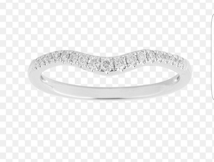 Goldsmiths diamond  wedding band