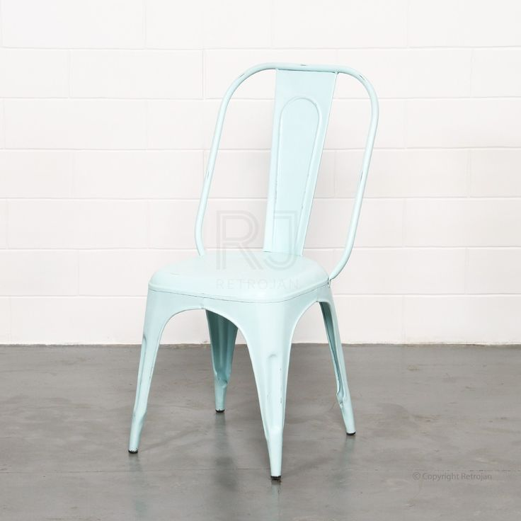 Frankie Cafe Dining Chairs - LIGHT BLUE | $99.00