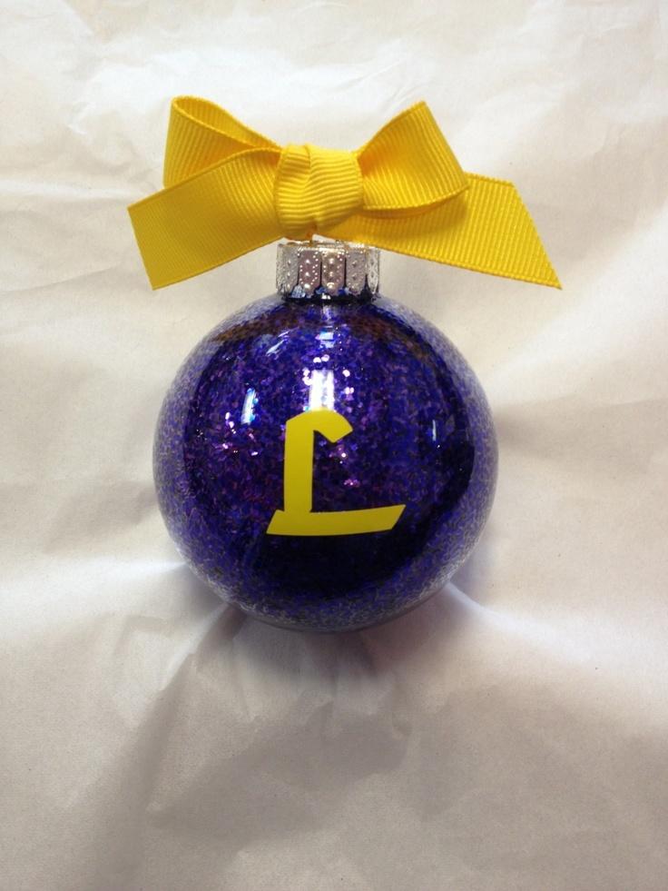 Carlyn Smith Creations Store - Loyola High School Ornament, $10.00 (http://www.carlynsmithcreations.com/products/loyolal-high-school-ornament.html)