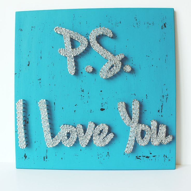 nice PS I Love You String Wall Art-Reclaimed Wood String Art-Gift Ideas-Sparkle and Shine Romantic Gift-Romantic Wedding Gift-Romantic Art by http://www.best99-home-decor-pics.club/romantic-home-decor/ps-i-love-you-string-wall-art-reclaimed-wood-string-art-gift-ideas-sparkle-and-shine-romantic-gift-romantic-wedding-gift-romantic-art/