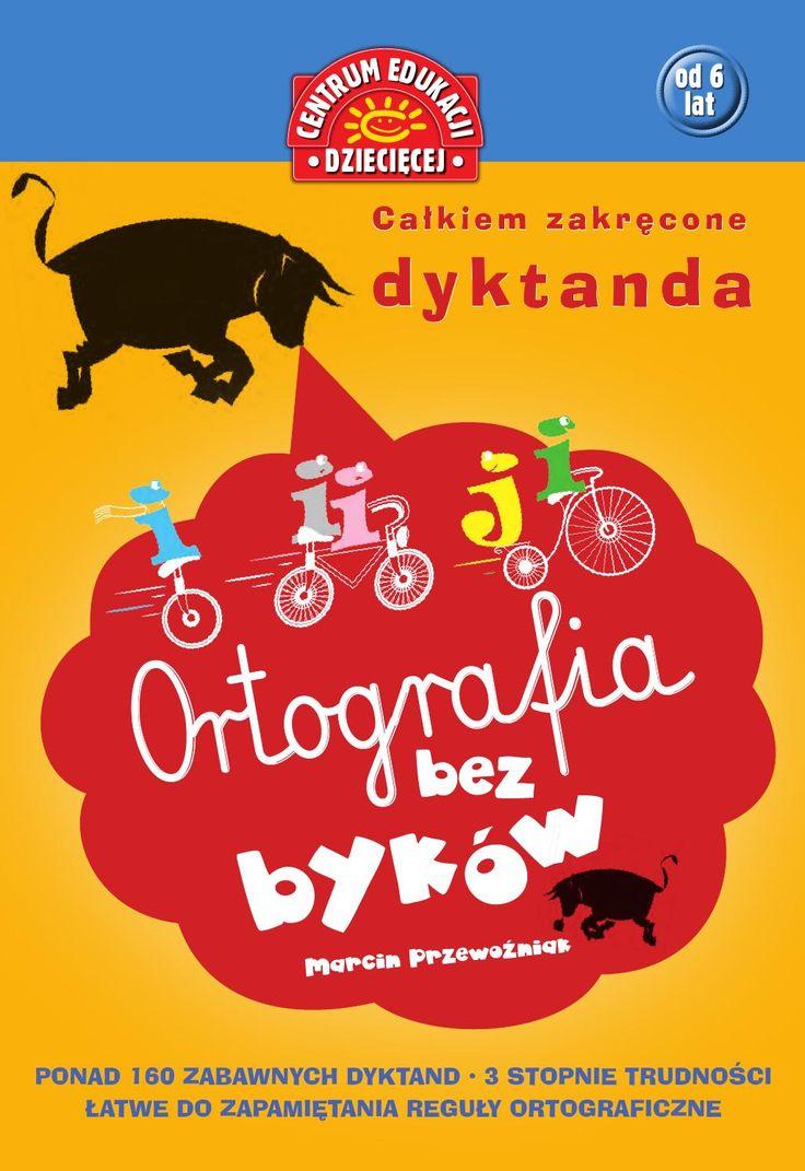 Książka pomagająca opanować zasady ortografii języka polskiego i pisać bez błędów. Adresowana jest do: - uczniów szkół podstawowych - pomaga opanować zasady poprawnego pisania - nauczycieli nauczania zintegrowanego i języka polskiego - zawarte w niej dyktanda można wykorzystywć podczas lekcji - rodziców - którzy dzięki niej mogą w domu ćwiczyć z dziećmi bezbłędne pisanie Zawiera ponad 160 dyktand w 3 stopniach trudności oraz łatwe do zapamiętania porady ortograficzne. Jej zabawna forma…