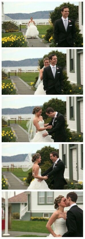 Grooms reaction to bride . Best reaction i've seen so far !