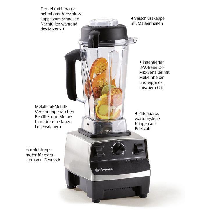 Vitamix TNC 5200 #vitamix #vitamixtnc5200 #rohkost #rawfood #mixer #food