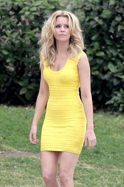 Elizabeth Banks Bandage Dress