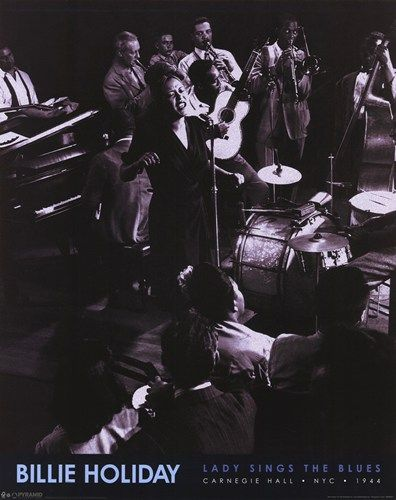 Billie Holiday - Lady Sings The Blues PosterGjon Mili, Billie Holiday, Lady Singing, Jazz, Billyholiday, Holiday Singing, Billy Holiday, Jam Session, Billy Holliday