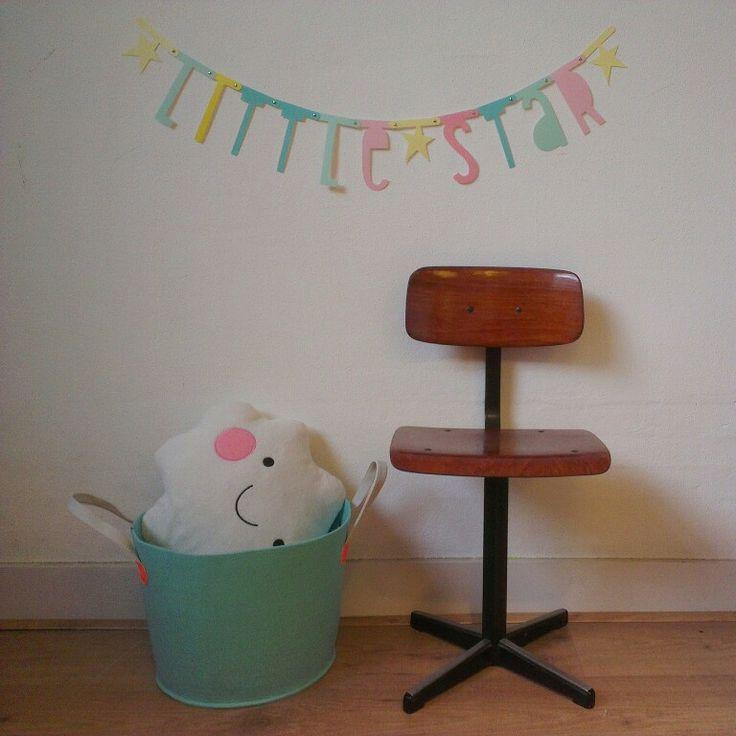 #tip #diy #idee #kids #wordbanner #pastel #garlands