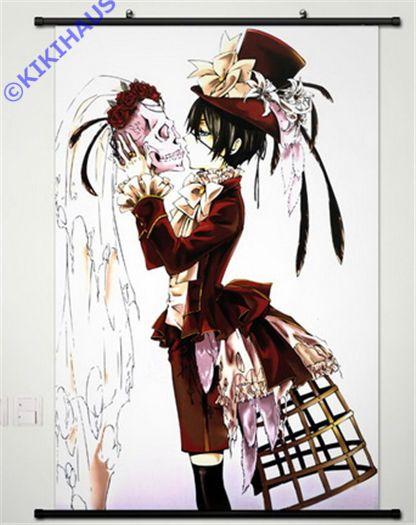 Neu Kuroshitsuji Black Butler Anime Manga Wallscroll Stoffposter 60x90cm 026