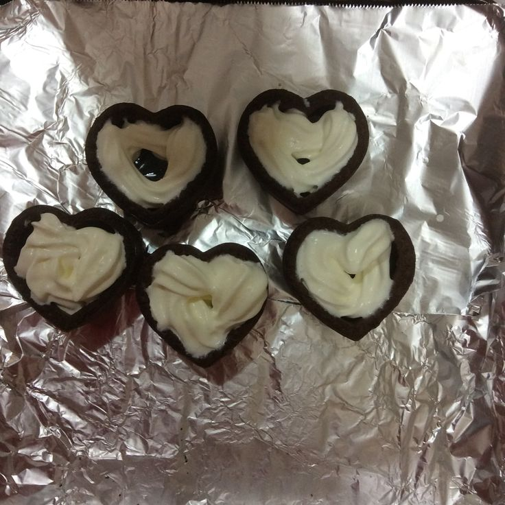 Simple heart choco on Valentine's Day for my son- Shogo