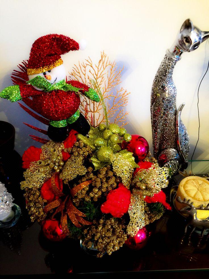Arreglo mesa Navidad