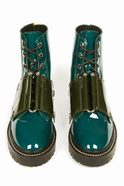 Kenzo Short Lace-Up Boots (though I have to say, the more I look, the more they're growing on me....:)