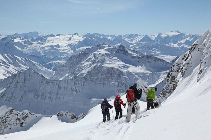 Helisky Freeride Mont Blanc #courmayeurmontblanc #montblanc