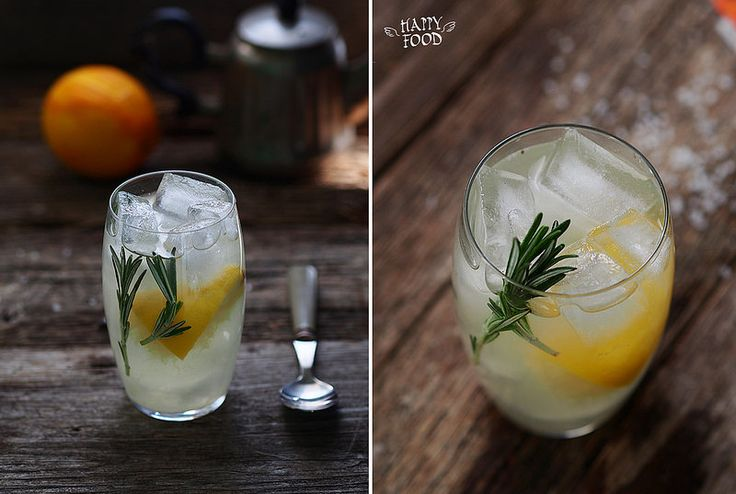 Лимонад с розмарином - HAPPYFOOD