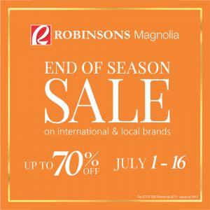 Robinsons Magnolia End of Season Sale