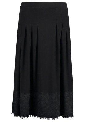 Pliceret nederdel /Nederdele med folder - black
