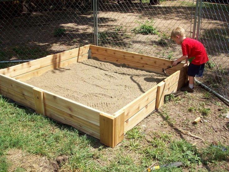 die besten 25 sandkasten bauen ideen auf pinterest recycling garten handwerk sandkasten und. Black Bedroom Furniture Sets. Home Design Ideas