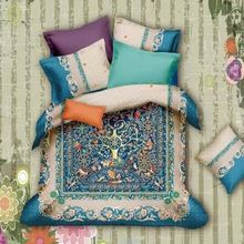 Hot arrival Vintage Bohemian Baroque Bedding Set Queen King Size Bed Sheets Duvet Cover Pillow Case Pure Cotton Fabric Textiles Bed in a Bag now at discount US $95.00 with free shipping  you'll discover this piece as well as even more at the eshop      Find it today at this site >> http://bohogipsy.store/products/vintage-bohemian-baroque-bedding-set-queen-king-size-bed-sheets-duvet-cover-pillow-case-pure-cotton-fabric-textiles-bed-in-a-bag/,  #BohoChic