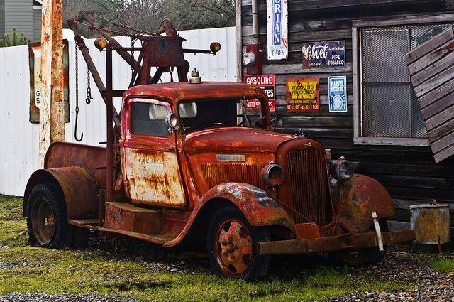Dodge Bros. Tow truck wi 1934 plate   Flickr: partage de photos!