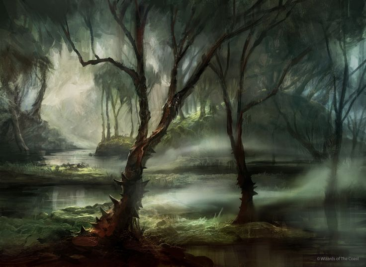 The Swamps of Prayvania 76ae321654961daa3e1fca0082c91bc5--fantasy-landscape-fantasy-art