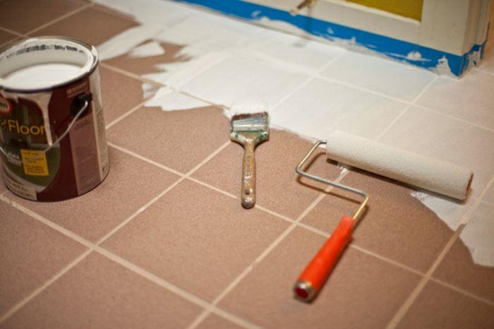 Fußboden Fliesen Lack ~ Fliesenbeschichtung badsanierung hotelsanierung youtube