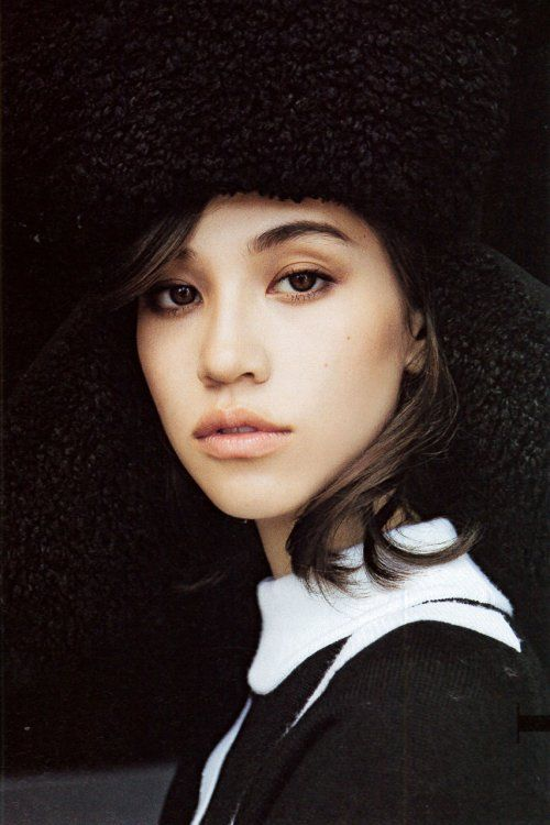 Kiko Mizuhara Goes Monochromatic for 'Gina' Magazine's October Issue