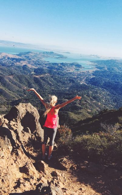 mount tamalpais hike in Marin County!
